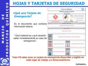Modelos de Tarjeta de Emergencia