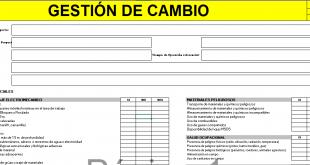 GESTIÓN DE CAMBIO