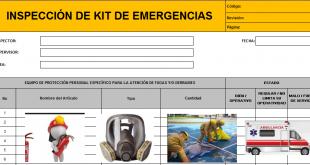 Inspección de Kit de Emergencias