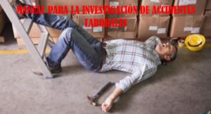 MANUAL DE INVESTIGACIÓN DE ACCIDENTES