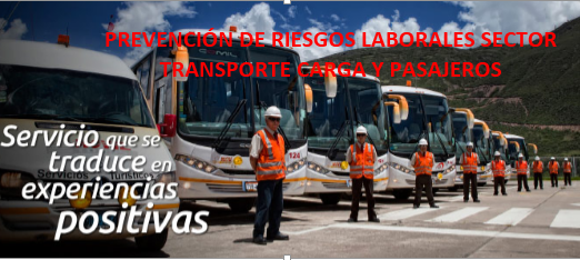 PREVECIÓN DE RIESGOS SECTOR TRANSPORTE