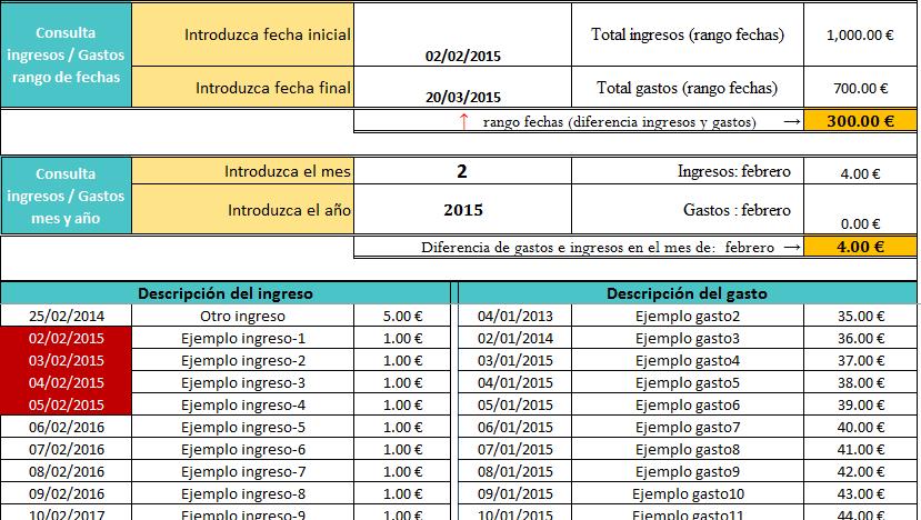 Descarga Plantilla De Excel Para Ingresos Y Egresos Material Educativo