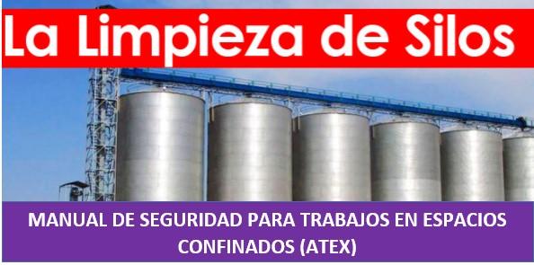 Manual de seguridad en espacios confinados, silos, ATEX
